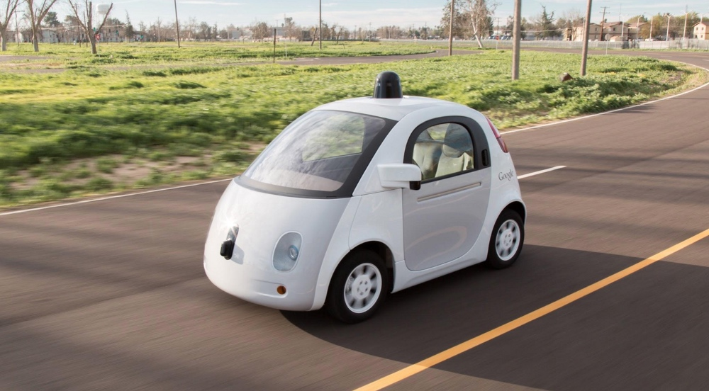 Google self-driving car.