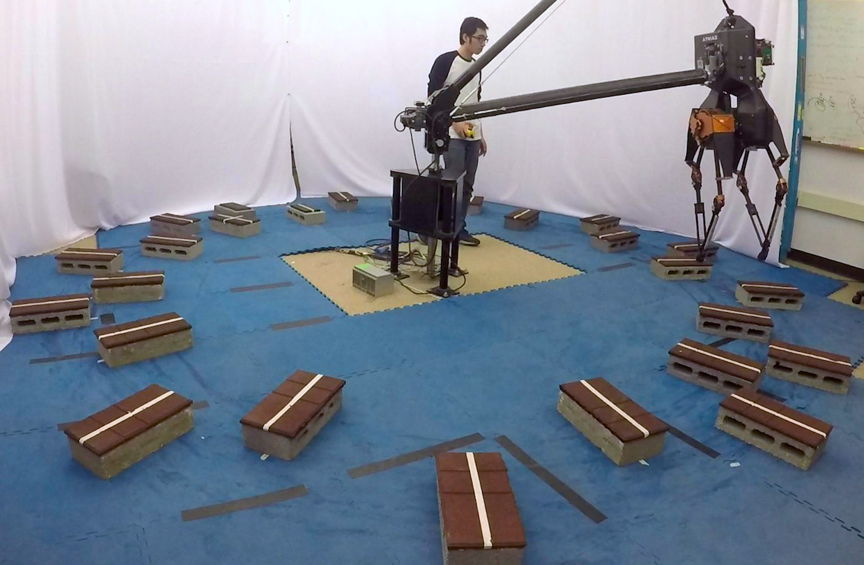 Dynamic walking with ATRIAS bipedal robot